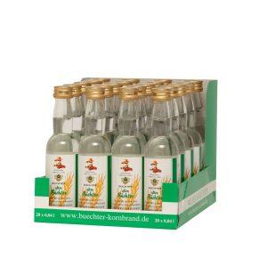 Alter Büchter, Weizenkornbrand im praktischem Verkaufstray mit 20 Flaschen à 40 ml