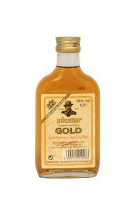 Kornbrennerei Büchter. Büchters Gold, Weinbrandverschnitt Einzelflasche à 200 ml