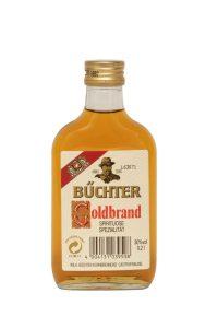 Kornbrennerei Büchter. Goldbrand Weinbrandverschnitt Einzelflasche à 200 ml