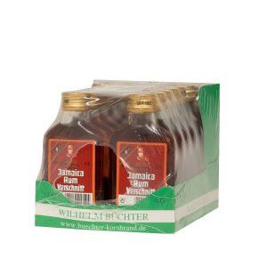 Kornbrennerei Büchter. Rum-Verschnitt, im Umkarton mit 12 Flaschen à 100 ml