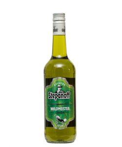 Kornbrennerei Büchter. Stepanoff Waldmeister Likör Einzelflasche à 700 ml