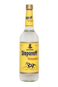 Kornbrennerei Büchter. Stepanoff Weizenkorn Einzelflasche à 700 ml