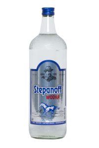 Kornbrennerei Büchter. Wodka Stepanoff, Einzelflasche à 1000 ml