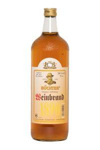 Kornbrennerei Büchter. Weinbrand Einzelflasche à 1000 ml