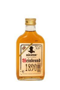 Kornbrennerei Büchter. Weinbrand, Einzelflasche à 200 ml
