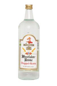 Kornbrennerei Büchter. Westfalen-Krone Doppelkorn Einzelflasche à 1000 ml