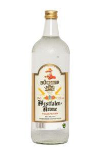 Kornbrennerei Büchter. Westfalen-Krone Weizenkorn Einzelflasche à 1000 ml